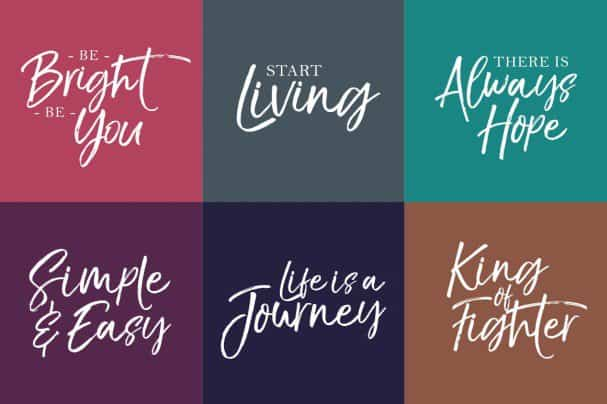 Download The Braggest font (typeface)