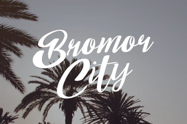 Download Bom Day font (typeface)