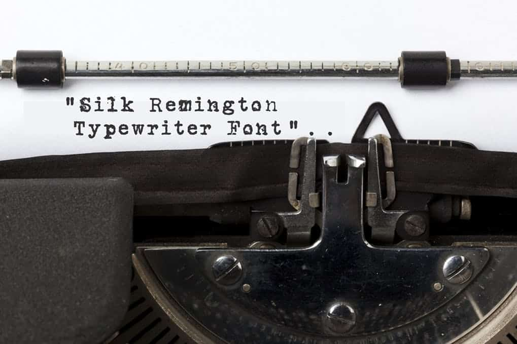 Download Silk Remington font (typeface)