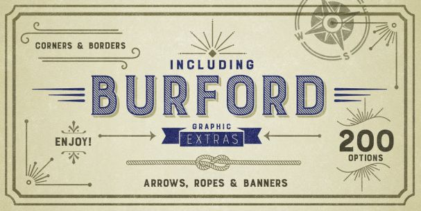 Download Burford Base font (typeface)