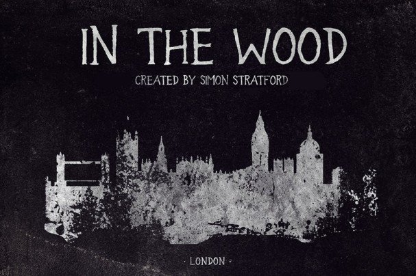 Download In the wood font font (typeface)