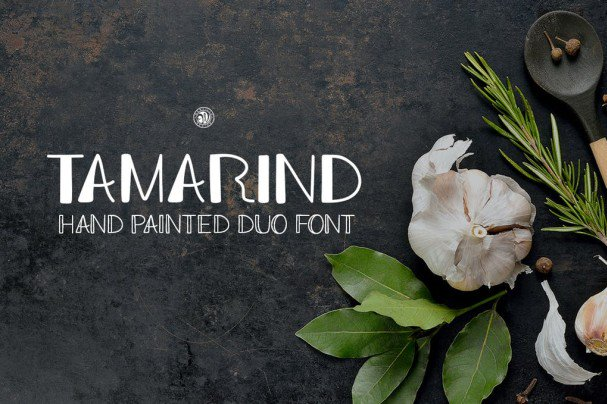 Download Tamarind Duo font (typeface)