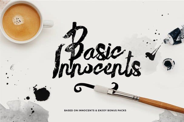 Download Basik rough font (typeface)