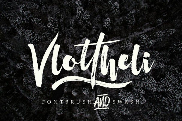 Download Vlottheli font (typeface)