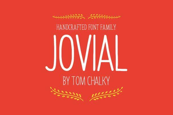 Download Jovial Family font (typeface)