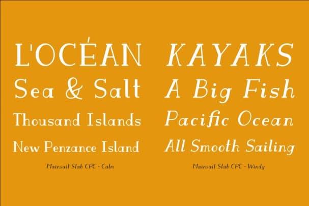 Download Mainsail CPC font (typeface)