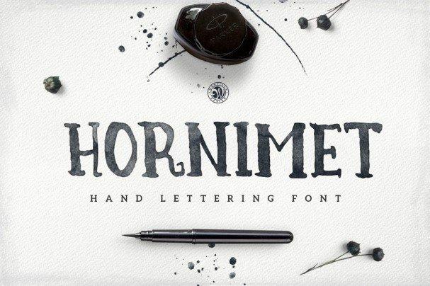 Download Hornimet font (typeface)