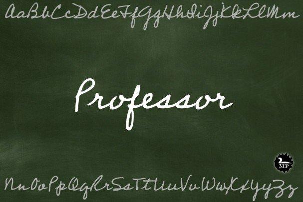Download Professor font (typeface)