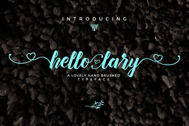 Download Hello Lary Font font (typeface)