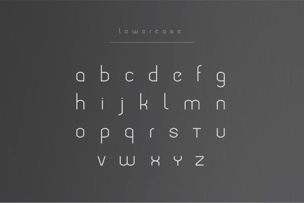 Download Modeka - Modern Font font (typeface)