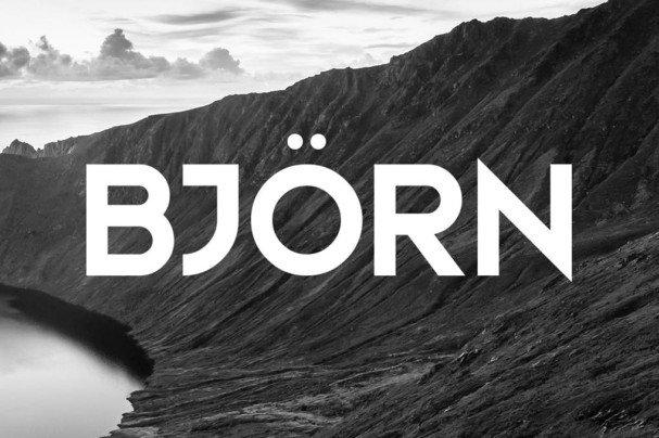 Download Bjorn Typeface font (typeface)