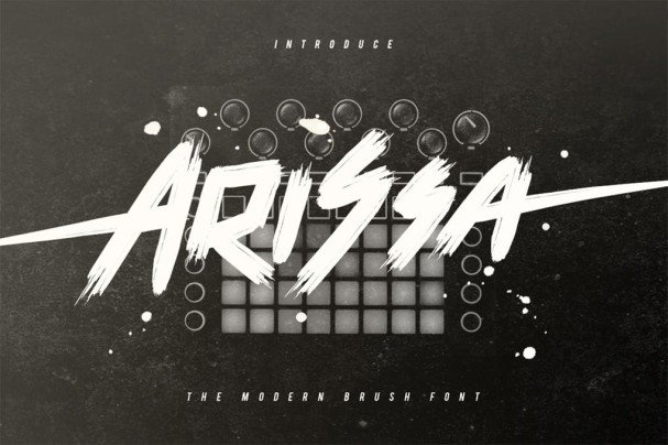 Download Arissa font (typeface)