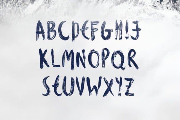 Download Fjord Brush Font font (typeface)