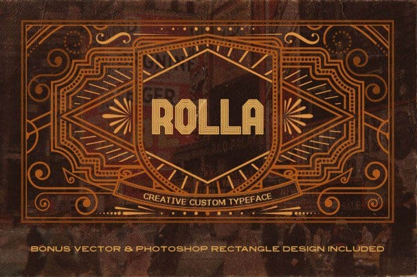 Download Rolla Font font (typeface)