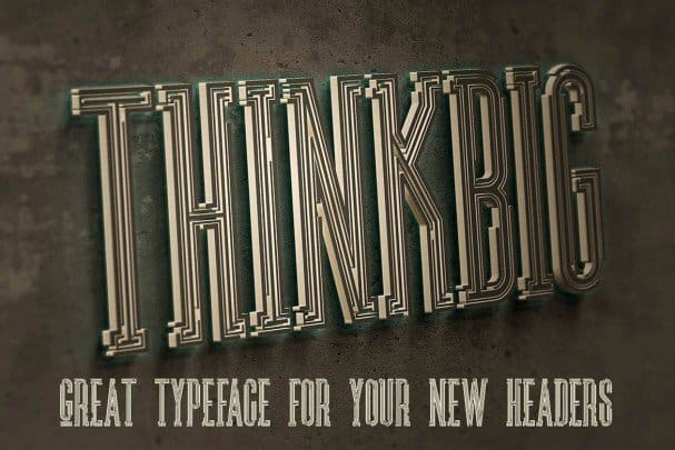 Download Ultra - Modern font (typeface)
