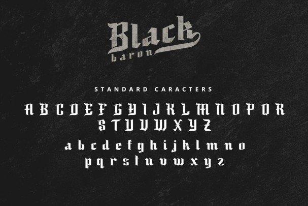 Download Black Baron font (typeface)