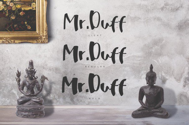 Download Mr. Duff Typeface font (typeface)