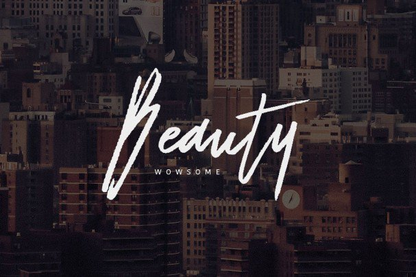 Download Dattsy Signature Brush Font font (typeface)