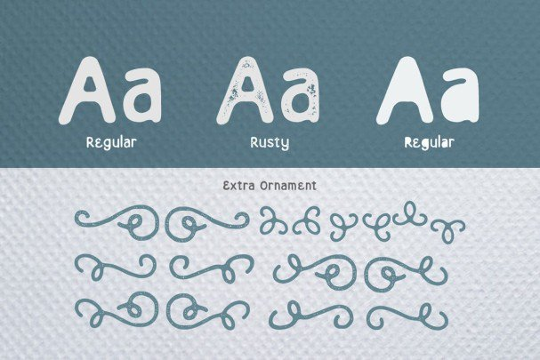Download Eastern Typeface font (typeface)