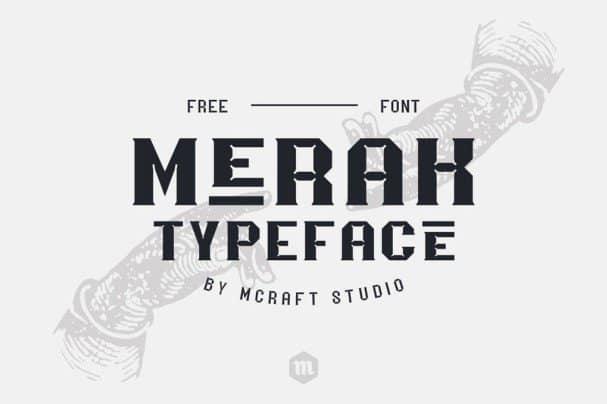 Download Merak font (typeface)