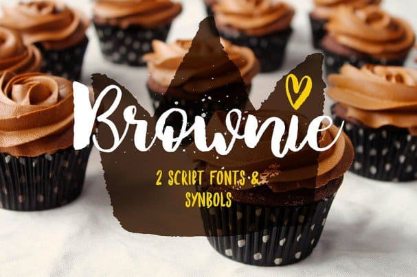 Download Brownie Brush font (typeface)