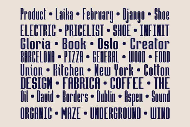 Download Hammerhead Typeface font (typeface)