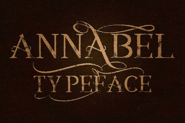 Download Annabel font (typeface)