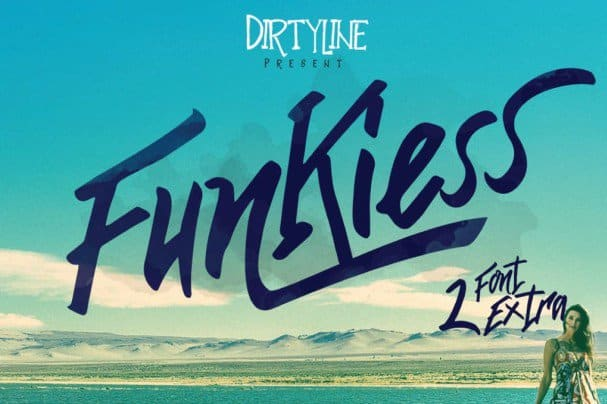 Download Funkiess Display typeface font (typeface)