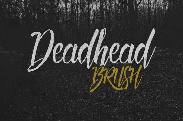 Download Deadhead Brush font (typeface)