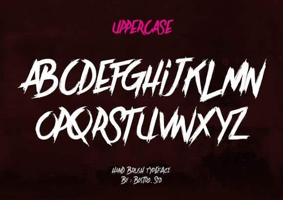 Download Brother In Crime font (typeface)