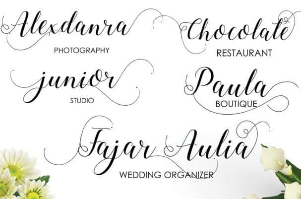 Download Alejandra font (typeface)