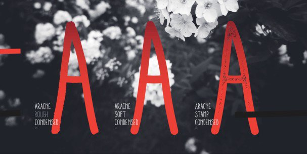 Download Aracne Condensed font (typeface)