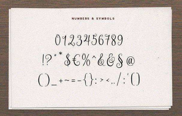 Download Nouradilla Script font (typeface)