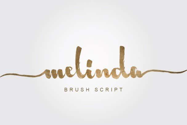 Download Melinda font (typeface)
