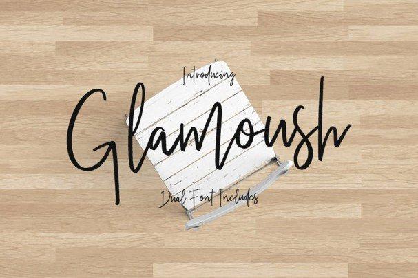 Download Glamoush Typeface font (typeface)