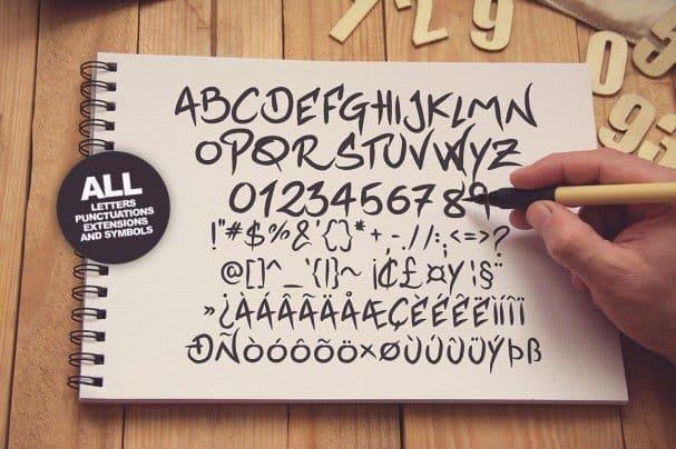 Download Jackfont Script Typeface font (typeface)