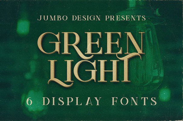 Download Green Light - Vintage Style font (typeface)