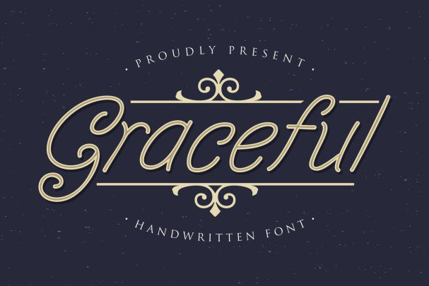 Download Graceful font (typeface)