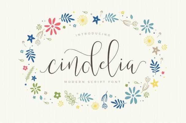Download Cindelia font (typeface)