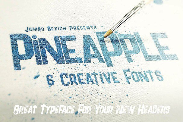 Download Pineapple - Funny Style font (typeface)