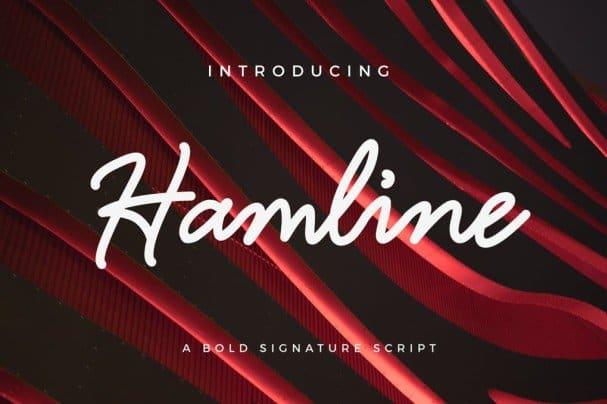 Download Hamline font (typeface)
