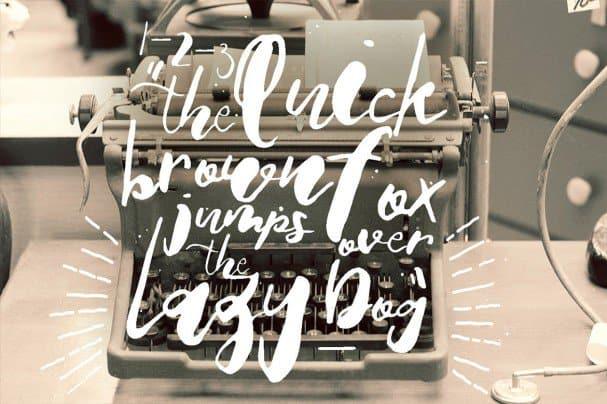Download Sarah Loewe font (typeface)