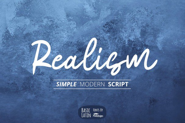 Download Realism font (typeface)