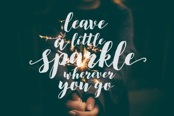 Download Modern brush font, December Sparks font (typeface)