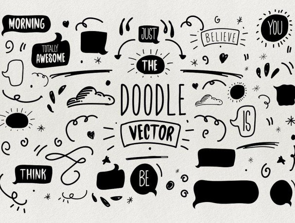 Download Chamberline and Doodle vector font (typeface)
