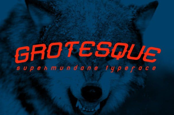 Download Grotesque Font font (typeface)