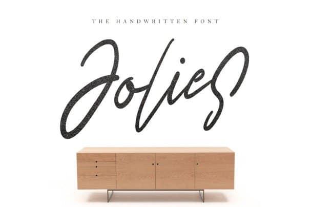 Download Jolies Typeface font (typeface)