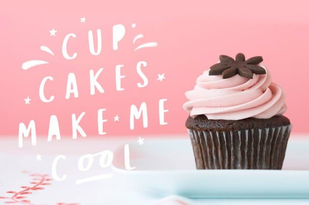 Download Cup Cakes font (typeface)