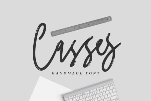 Download Casses Font font (typeface)