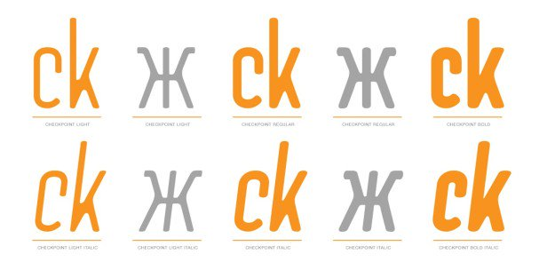 Download Checkpoint font (typeface)